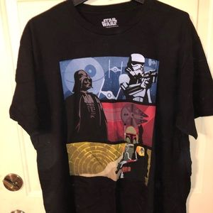 Men's XXL Disney Star Wars t-shirt